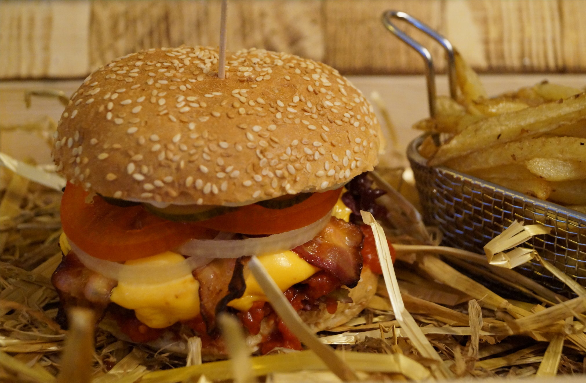 Bacon and  Cheese Burger